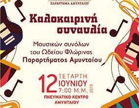 Photo of Καλοκαιρινή συναυλία μουσικών συνόλων του Ωδείου Φλώρινας Παρατήματος Αμυνταίου