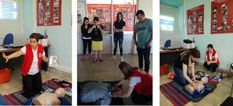 Photo of Ολοκλήρωση εκπαιδεύσεων ομάδων πολιτών στις πρώτες Βοήθειες από το Περιφερειακό Τμήμα Ε.Ε.Σ. Φλώρινας