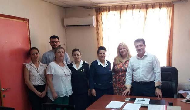 Photo of Συνάντηση του Περιφερειακού Συμβουλίου ΕΕΣ Φλώρινας με τον Διοικητή του Γενικού Νοσοκομείου Φλώρινας