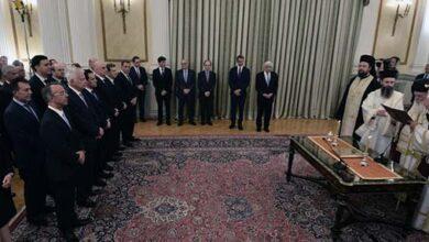 Photo of Με θρησκευτικό όρκο ορκίστηκε η κυβέρνηση του Κυριάκου Μητσοτάκη