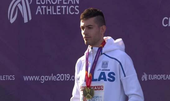 Photo of Xρυσό μετάλλιο ο Μίλτος Τεντόγλου από τα Γρεβενά,   με 8,32 στη Σουηδία!