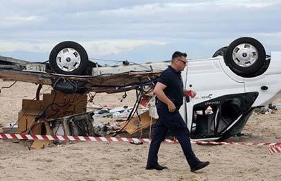 Photo of Χαλκιδική: Σκηνικό αποκάλυψης έφερε το φως της μέρας – Έξι νεκροί, δεκάδες τραυματίες, ανυπολόγιστες οι ζημιές