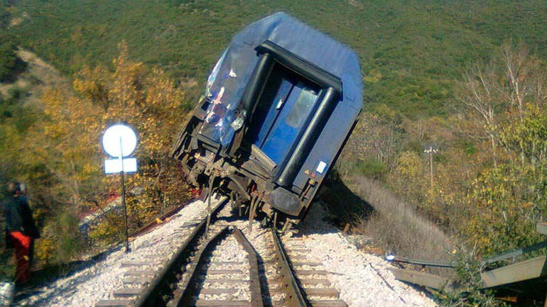 Photo of Εκτροχιάστηκε βαγόνι τρένου στο Λιανοκλάδι