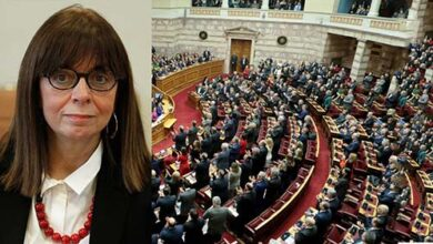 Photo of Η Κατερίνα Σακελλαροπούλου πρώτη γυναίκα Πρόεδρος της Δημοκρατίας με 261 ψήφους