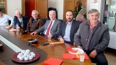 Photo of Ευχές για την ονομαστική του εορτή δέχθηκε ο Αντιπεριφερειάρχης Φλώρινας, Ιωάννης Κιοσές