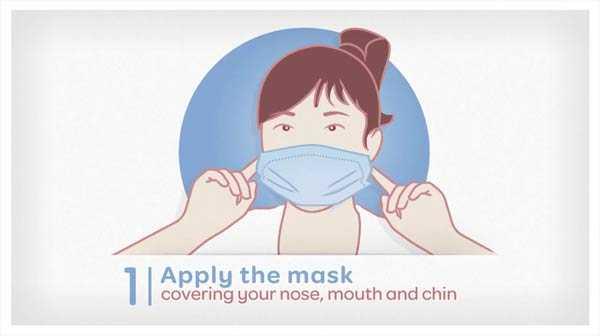 Photo of Μάσκες προσώπου: Δείτε πώς τις φοράμε για να μην τις μολύνουμε