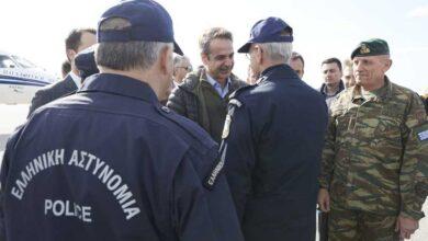 Photo of Μητσοτάκης στα σύνορα: «Ο Eβρος είναι πάντα όρθιος, δεν θα περάσει κανείς παράνομα»