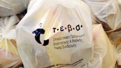 Διανομή τροφίμων του «Επιχειρησιακού Προγράμματος Επισιτιστικής και Βασικής Υλικής Συνδρομής ΤΕΒΑ από τον Δήμο Αμυνταίου