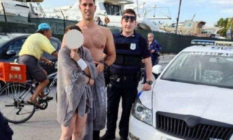 Photo of Αστυνομικός της Άμεσης Δράσης, βούτηξε στη θάλασσα κι έσωσε γυναίκα από πνιγμό (vid)