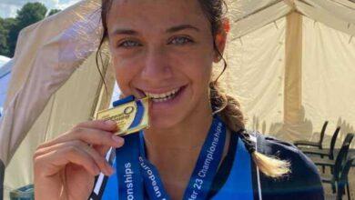 Photo of Χρυσό μετάλλιο για την κωπηλάτρια από την Καστοριά Ευαγγελία Αναστασιάδου στο Ευρωπαϊκό Κ23