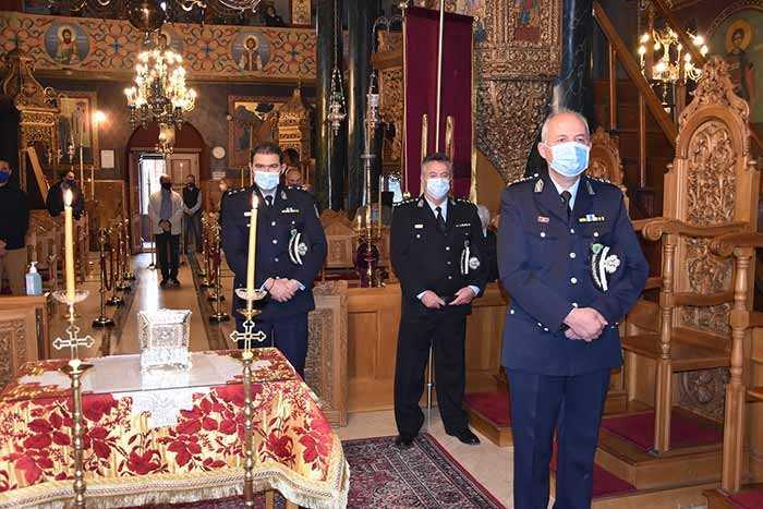 Photo of Εορτασμός του Προστάτη του Σώματος,  Μεγαλομάρτυρα Αγίου Αρτεμίου και της «Ημέρας της Αστυνομίας»