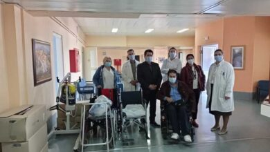 Photo of Θέματα Υγείας στον ευρύτερο χώρο της Αποκατάστασης συζητήθηκαν κατά τη διάρκεια επίσκεψης του Πα.Σ.Πα. Μακεδονίας – Θράκης στο ΚΕ.Φ.Ι.ΑΠ. Αμυνταίου Φλώρινας»